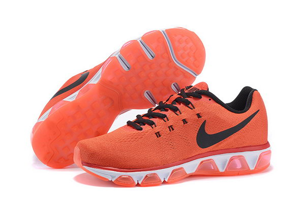 Mens Cheap Nike Air Max Tailwind 8 Orange Black White Online Store