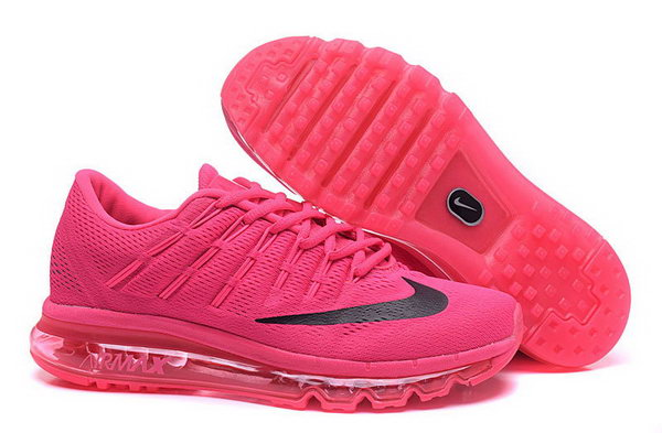 Mens Flyknit Air Max 2016 All Pink Black Netherlands