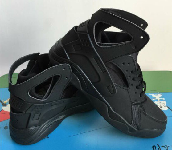 Mens Nike Air Flight Huarache High All Black 40-45 Spain