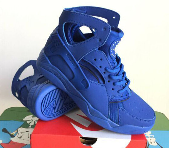 Mens Nike Air Flight Huarache High All Blue 40-45 Germany