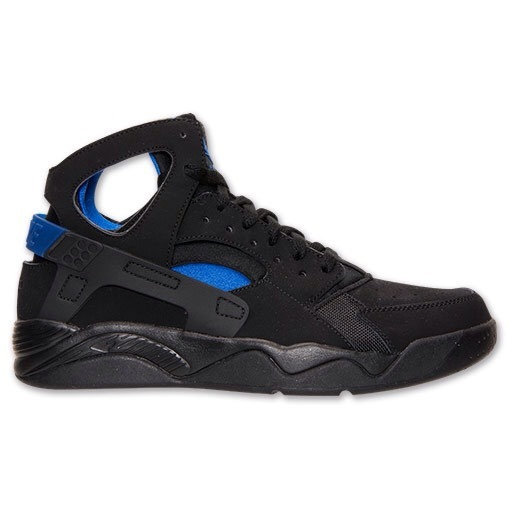 Mens Nike Air Flight Huarache High Black Blue 40-45 Factory Outlet