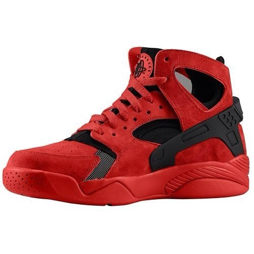 Mens Nike Air Flight Huarache High Red Black 40-45 Low Price