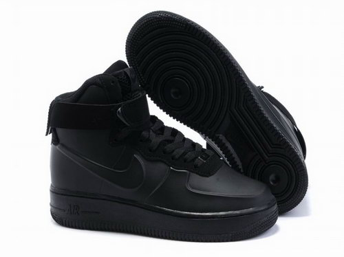 Mens Nike Air Force 1 25th High Shoes Black Inexpensive