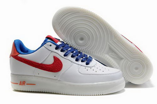 Mens Nike Air Force 1 25th Low Shoes Drugget Red Logo Discount Code