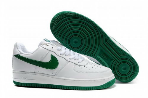 Mens Nike Air Force 1 25th Low Shoes White Green Review