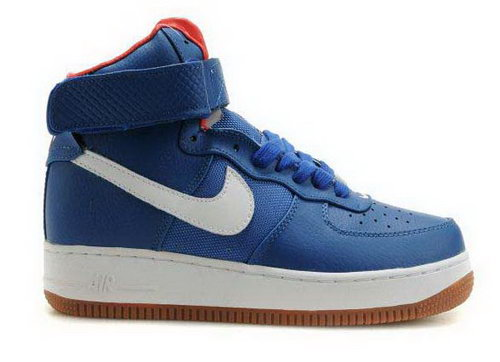 Mens Nike Air Force 1 High Puerto Rico Bobbito Blue For Sale