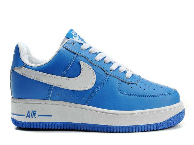 Mens Nike Air Force 1 Low Weave Blue White Czech