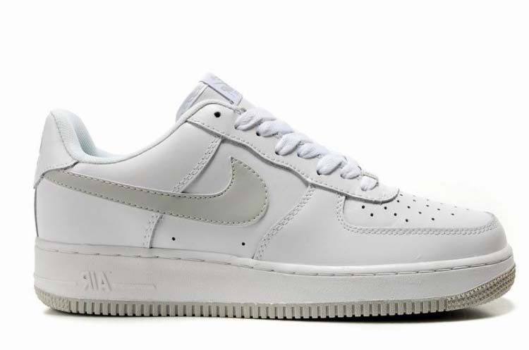 Mens Nike Air Force 1 Low White Grey Outlet