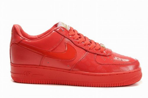 Mens Nike Air Force 1 Premium Red Taiwan