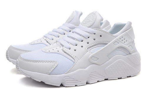 Mens Nike Air Huarache All White Norway
