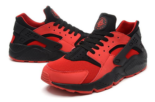 Mens Nike Air Huarache Big Red Black Online Shop