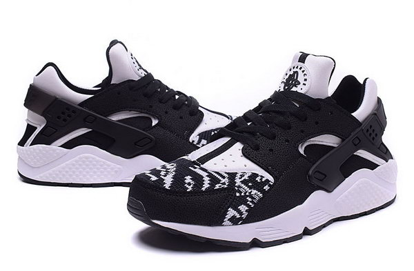 Mens Nike Air Huarache Black White Weave 40-45 Hong Kong