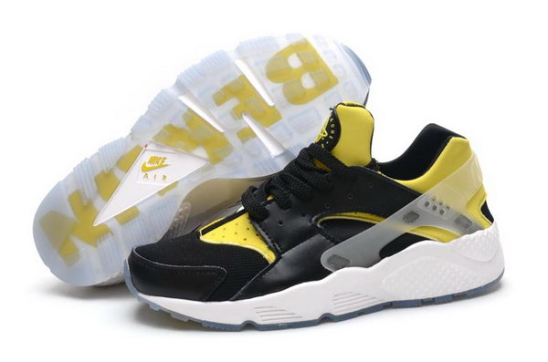Mens Nike Air Huarache Black Yellow Berlin 40-44 France