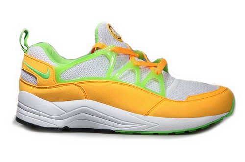 Mens Nike Air Huarache Light Atomic Mango Yellow Green White Portugal