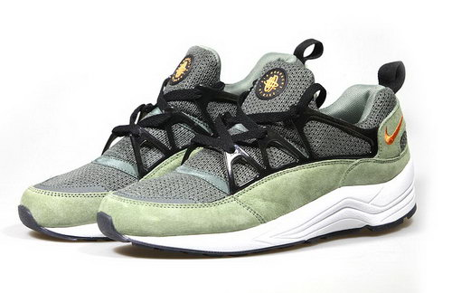 Mens Nike Air Huarache Light Jade Stone Green Grey Korea