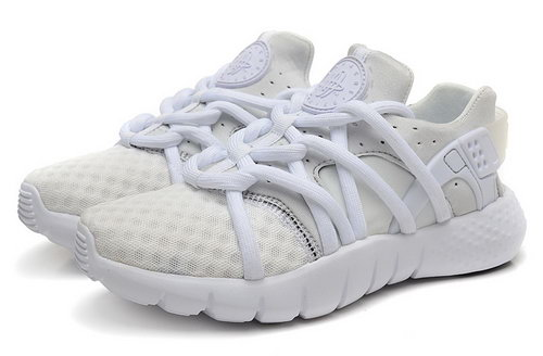 Mens Nike Air Huarache Nm All White Netherlands