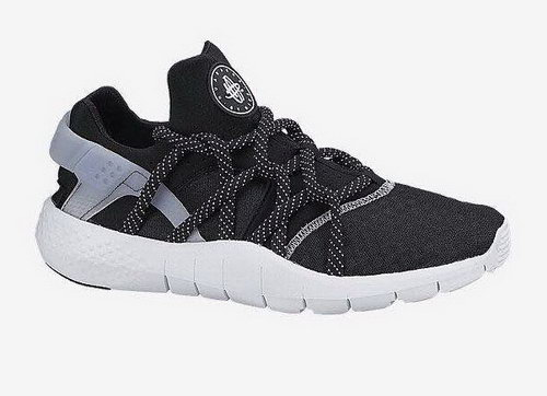 Mens Nike Air Huarache Nm Black White Low Cost