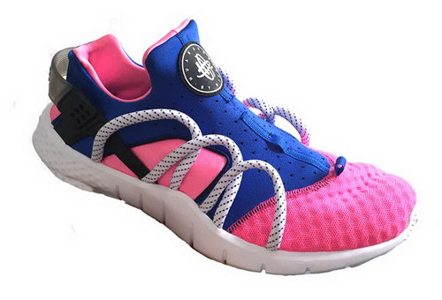 Mens Nike Air Huarache Nm Pink Blue Denmark