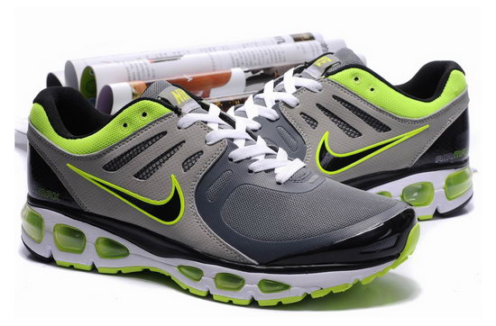 Mens Nike Air Max 2010 Grey Green Online Shop