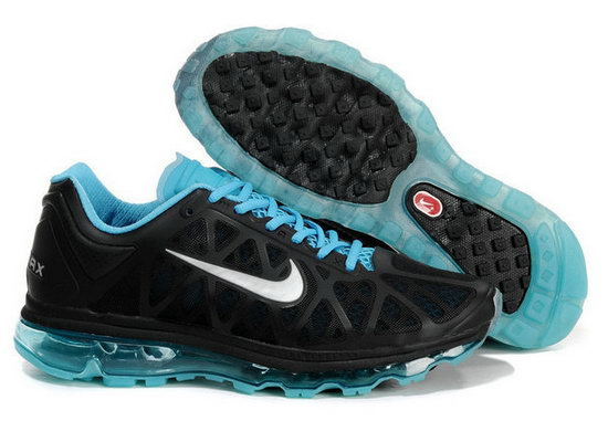 Mens Nike Air Max 2011 Black Jade Factory