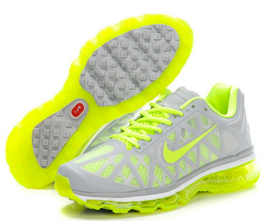 Mens Nike Air Max 2011 Fluorescent Green Canada