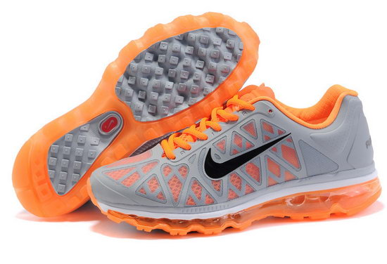 Mens Nike Air Max 2011 Grey Orange Poland