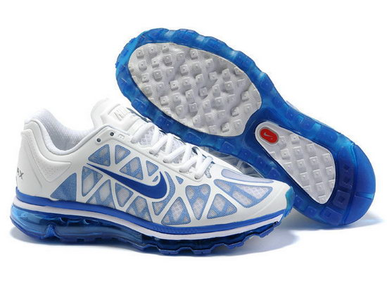 Mens Nike Air Max 2011 White Light Blue Switzerland