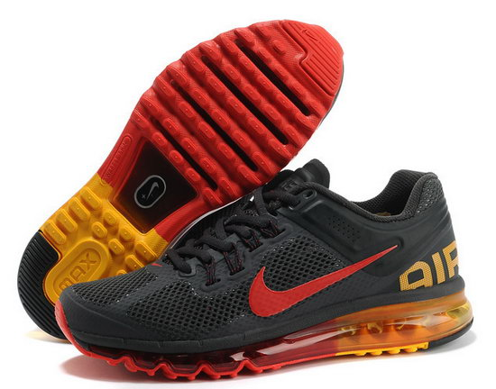 Mens Nike Air Max 2013 Dark Grey Red Czech