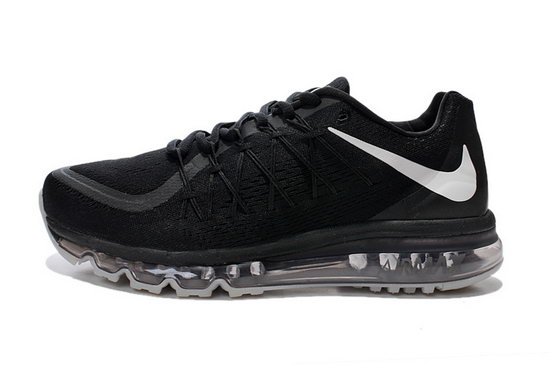 Mens Nike Air Max 2015 All Black Wholesale