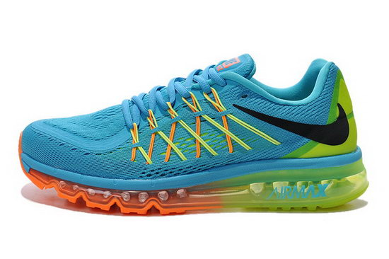 Mens Nike Air Max 2015 Blue Black Orange Green Japan
