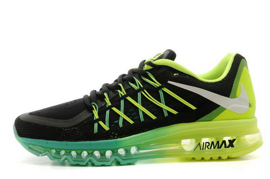 Mens Nike Air Max 2015 Green Black Blue Australia