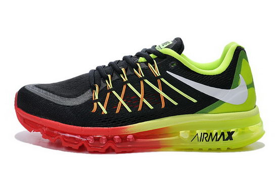 Mens Nike Air Max 2015 Green Red Black Grey Korea
