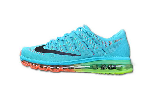 Mens Nike Air Max 2016 Blue Black Orange Hong Kong
