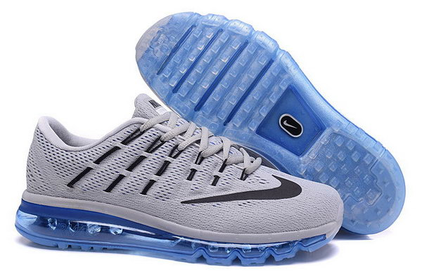 Mens Nike Air Max 2016 Grey Black Blue Mens Poland