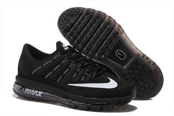 Mens Nike Air Max 2016 Shoes White Black Outlet