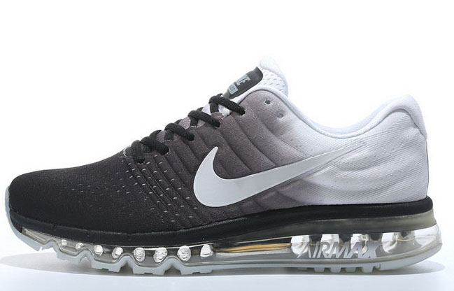 Mens Nike Air Max 2017 Black White Grey Online Store