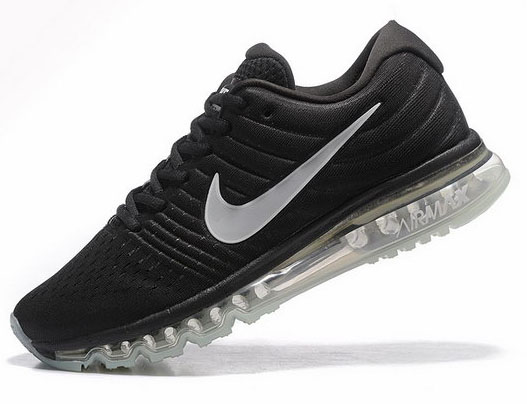 Mens Nike Air Max 2017 Black White Portugal