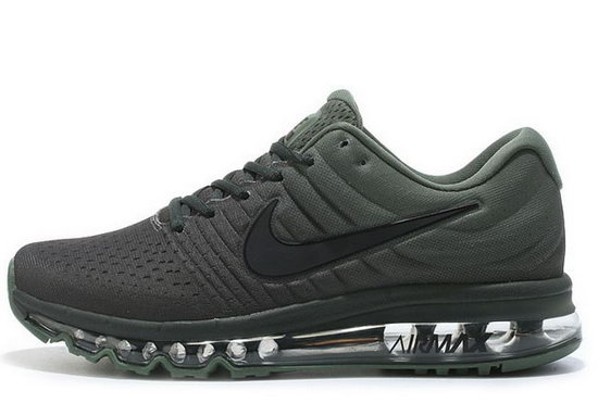 Mens Nike Air Max 2017 Dark Green 2 Korea