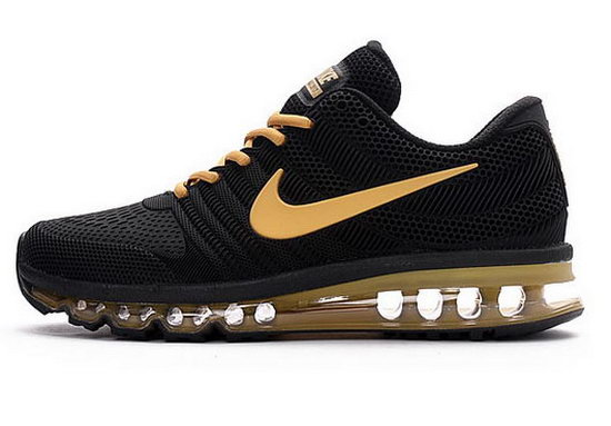 Mens Nike Air Max 2017 Kpu Black Gold Factory Store