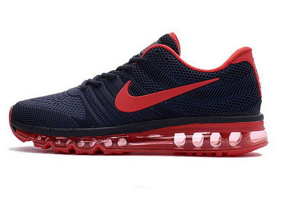 Mens Nike Air Max 2017 Kpu Blue Red On Sale