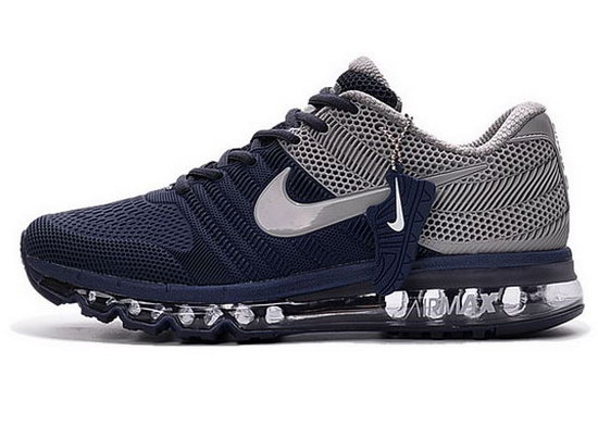 Mens Nike Air Max 2017 Kpu Dark Blue Grey Greece