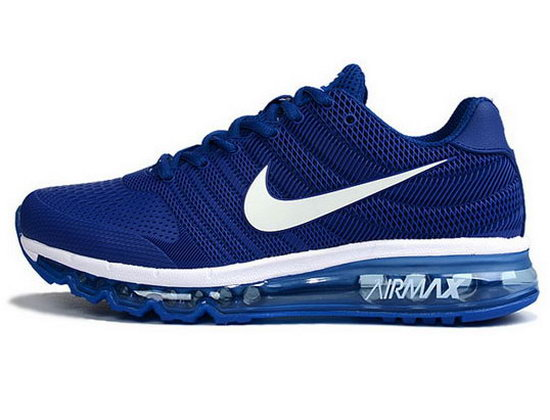 Mens Nike Air Max 2017 Kpu Ii Blue White Factory Outlet