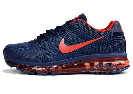 Mens Nike Air Max 2017 Kpu Ii Dark Blue Red New Zealand