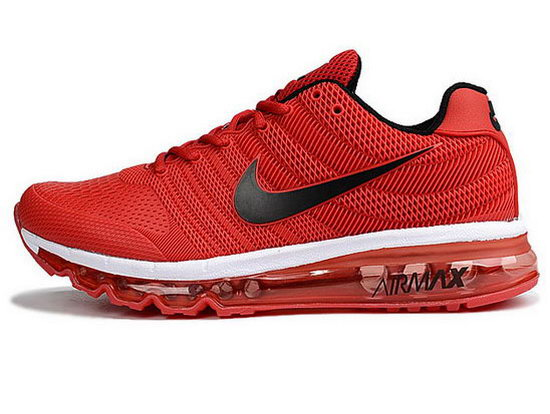 Mens Nike Air Max 2017 Kpu Ii Red Black Factory