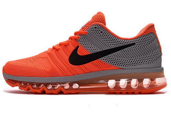 Mens Nike Air Max 2017 Kpu Orange Grey Norway