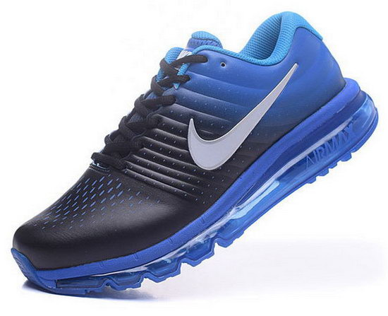 Mens Nike Air Max 2017 Leather Blue Black Coupon Code