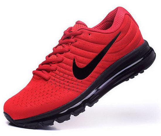 Mens Nike Air Max 2017 Red Black 2 Czech