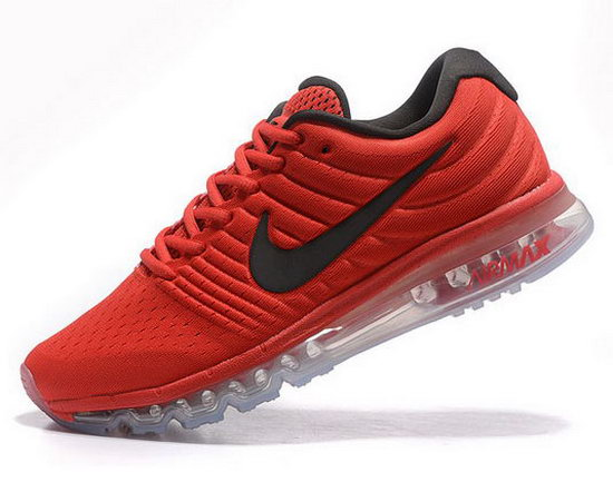 Mens Nike Air Max 2017 Red Black Netherlands