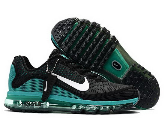 Mens Nike Air Max 2017.5 Black Green Coupon