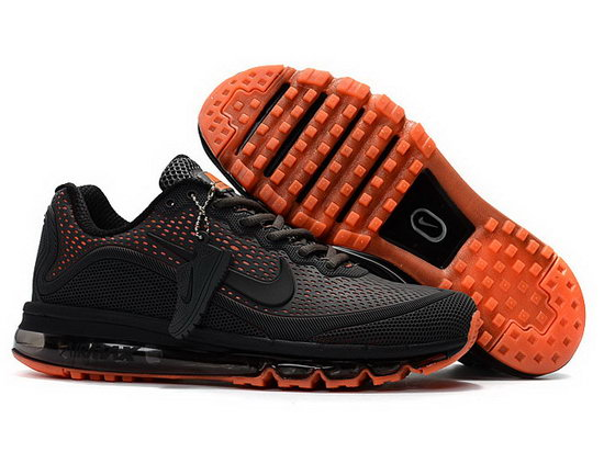 Mens Nike Air Max 2017.5 Black Orange Sweden